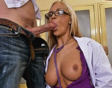 miss Reid begs for a big load on her face
