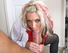 large Titted Doctor banging her patients pain away