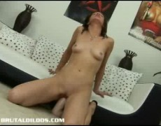 Michelle having brutal sex toy sex