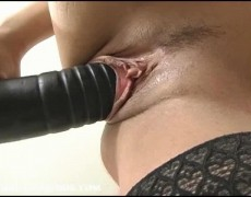 Tatiana takes a brutal dong down her tight pussy