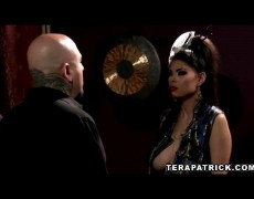 Tera Patrick lust getting her ass gapped by one hard dick